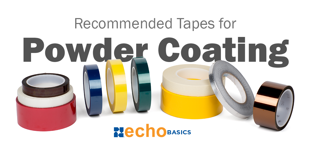 Recommended Tapes to use During Powder Coating