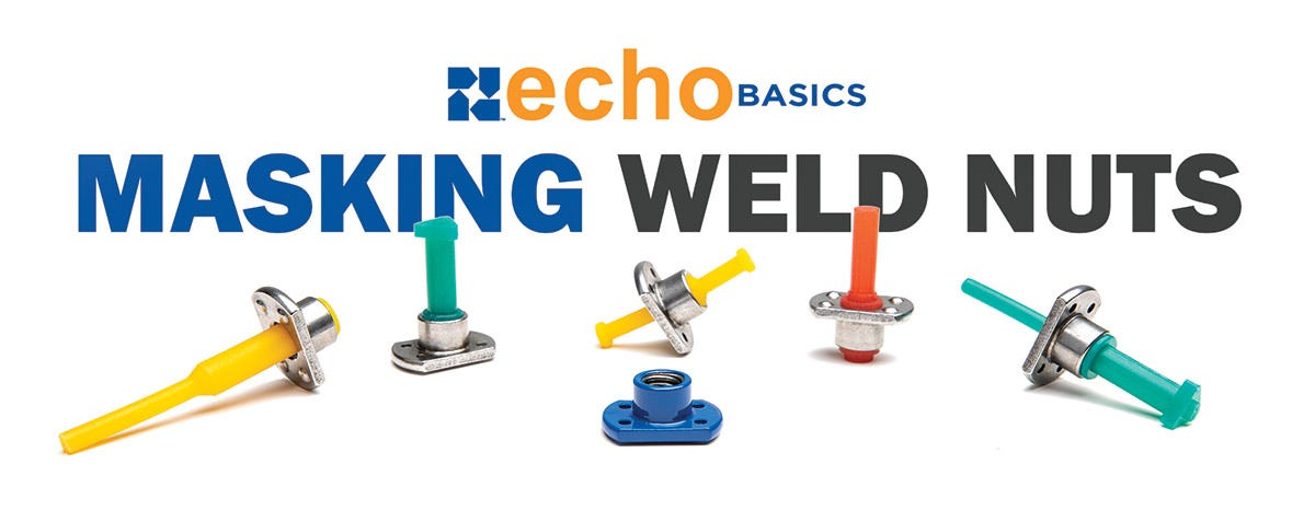 How to mask weld nuts during powder coating