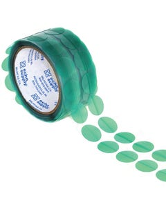 Green Poly Discs with Pull Tabs for grounding areas