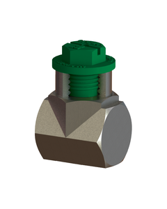 Echo BSP threaded plugs protect threads of pipes, valves, and tubes