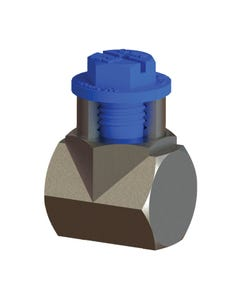 Plastic Metric Threaded plastic plug