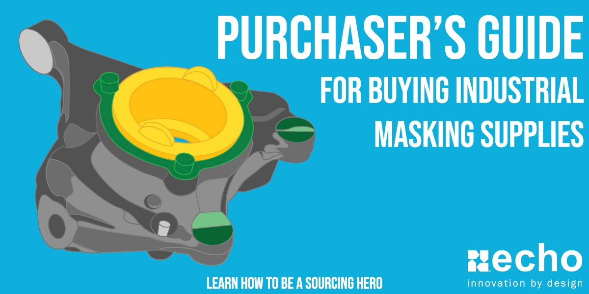 MRO Masking Supplier Purchasing Guide