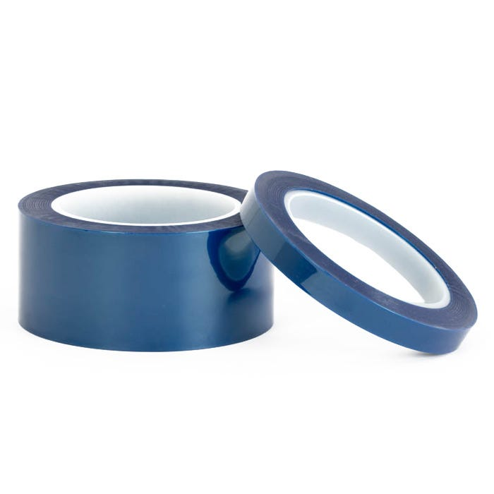 Blue Poly thin powder coating tape