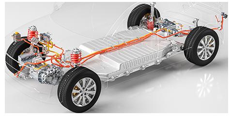 Electric Vehicle Battery Masking