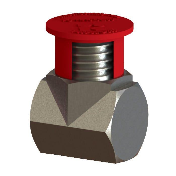 Plastic SAE Flange Caps