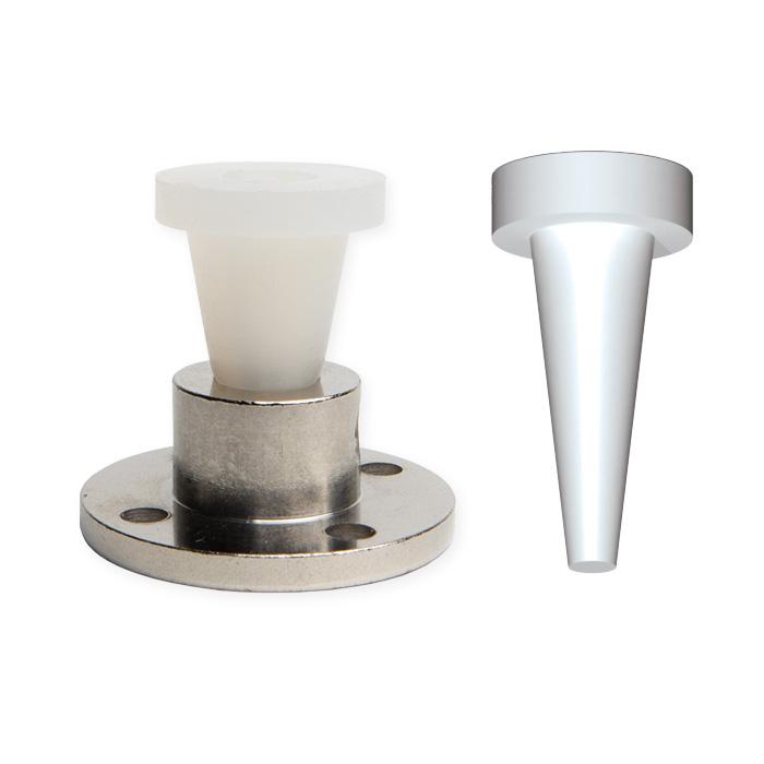 flange plugs for powder coating