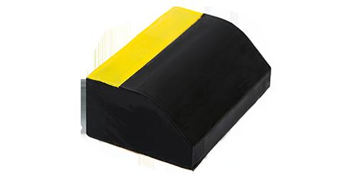 Fuel tank rubber nvh pads