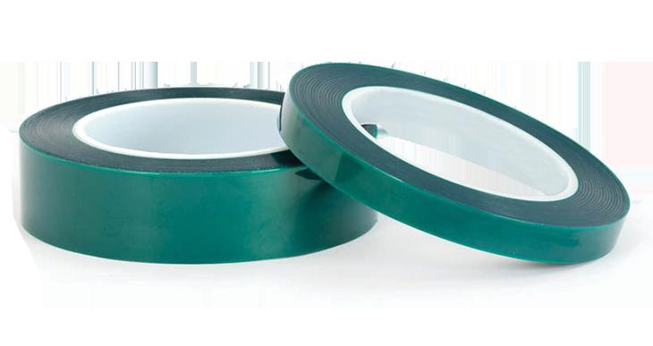 Green poly powder coating tape