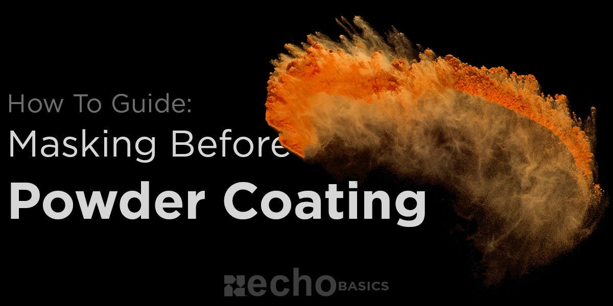 How to mask metal before powder coating