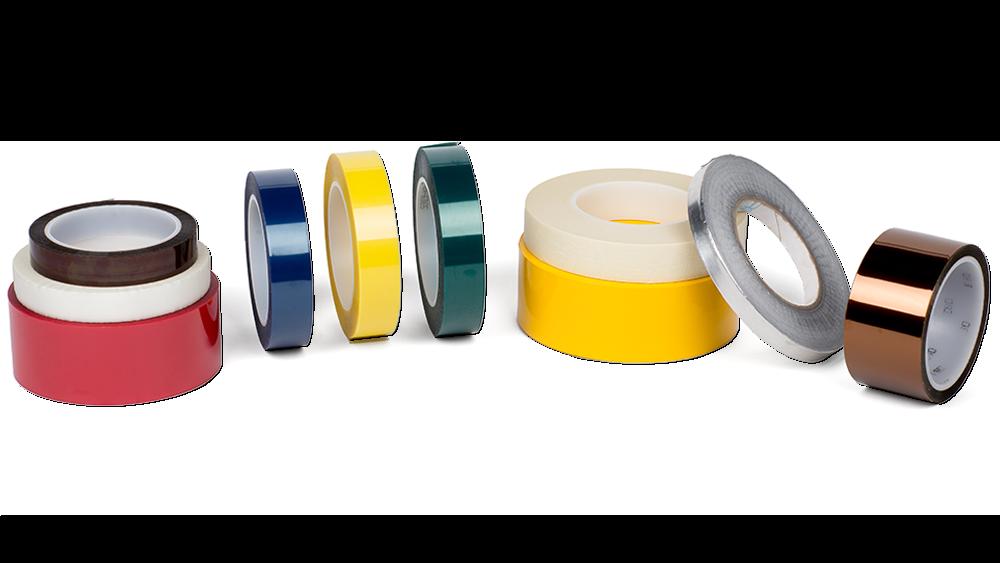 Powder coating tapes