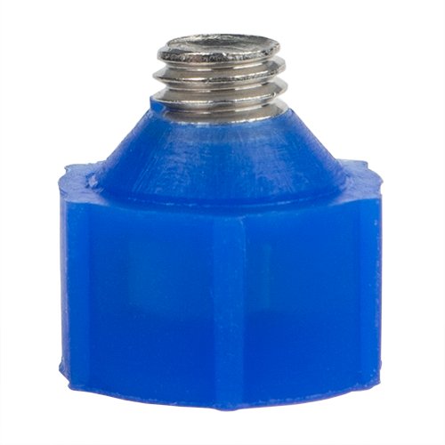 Threaded masking plug for powder coating