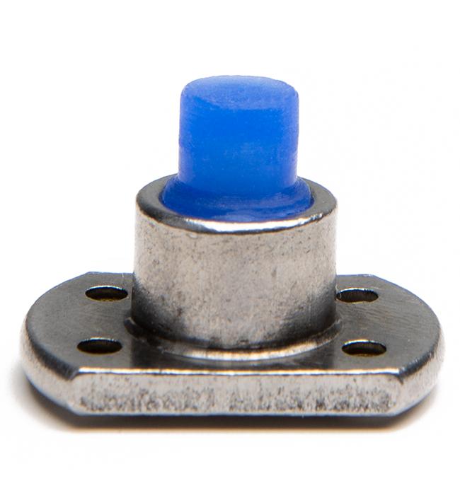 Leading thread masking plug for powder coating