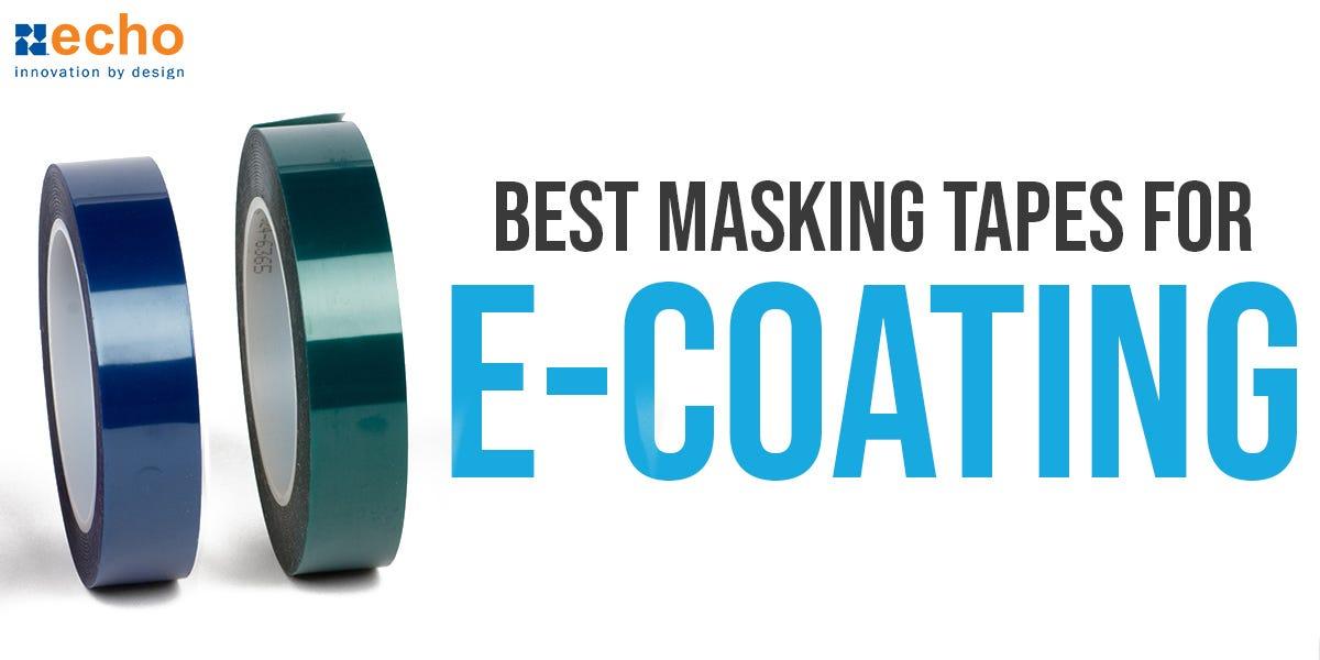 E-Coat Masking Tapes