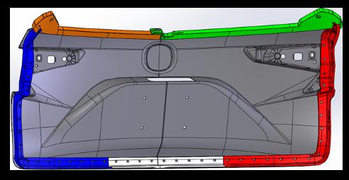custom automotive masking